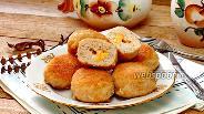 Фото рецепта Куриные котлеты с сыром