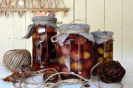 Оливки в винном маринаде