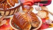 Фото рецепта Чесночные хлебцы