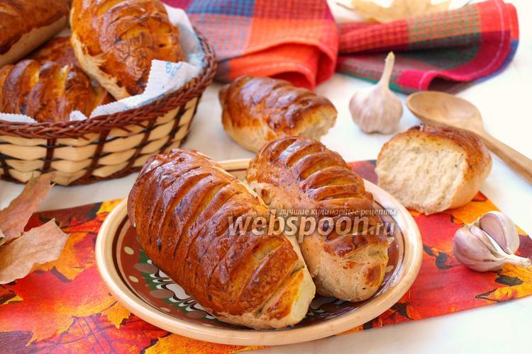Фото Чесночные хлебцы