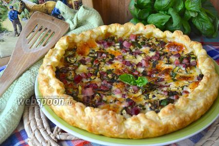 Сельский средиземноморский пирог