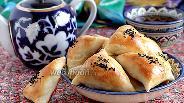 Фото рецепта Самса с бараниной и тыквой