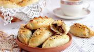 Фото рецепта Пирожки на кефире с бараниной и тыквой
