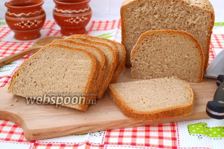 Фото Крестьянский хлеб в хлебопечке