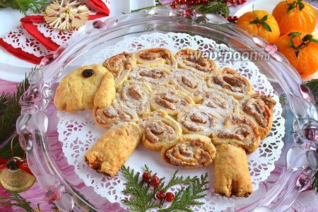 Пирог «Овечка» с белковой начинкой