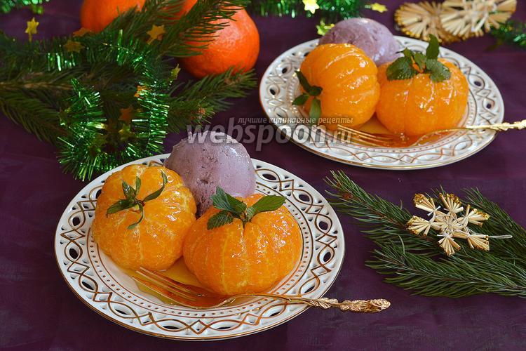Фото Новогодние пряные мандарины
