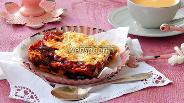 Фото рецепта Тёртый пирог с повидлом