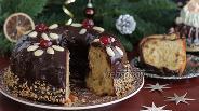 Фото рецепта Рождественский кекс