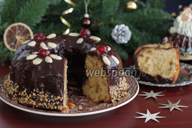 Фото Рождественский кекс