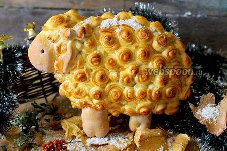 Дрожжевой пирог «Гламурная овечка»