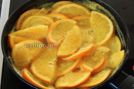 За это время наш апельсиновый соус уже приготовился.