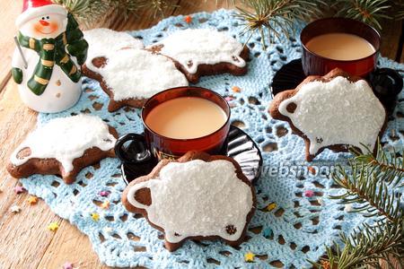 Шоколадное печенье Барашки