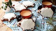 Фото рецепта Шоколадное печенье Барашки