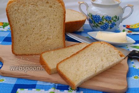 Хлеб с кунжутом в хлебопечке