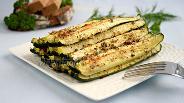 Фото рецепта Запечённые цукини с сыром