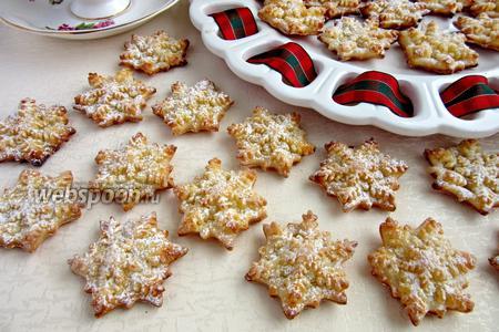 Творожное печенье «Снежинка»