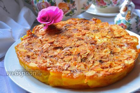 Яблочно-грушевый пирог с аппетитной корочкой