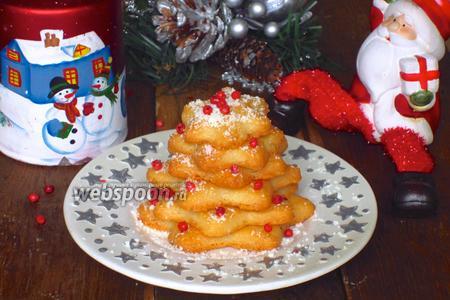 Сырное печенье «Ёлочки»