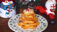 Фото рецепта Сырное печенье «Ёлочки»