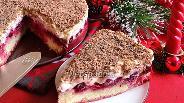 Фото рецепта Торт «Зимняя вишня»