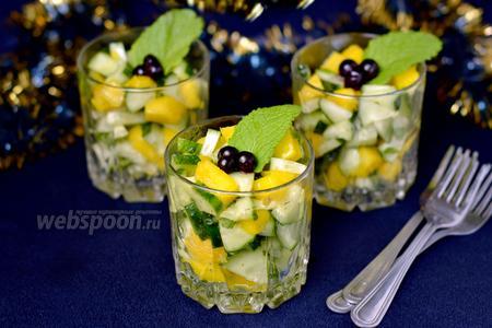 Веррины с манго и огурцами