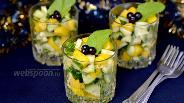 Фото рецепта Веррины с манго и огурцами