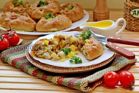Вак балиш — маленькие пироги с мясом и картофелем