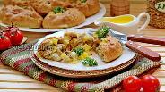 Фото рецепта Вак балиш — маленькие пироги с мясом и картофелем