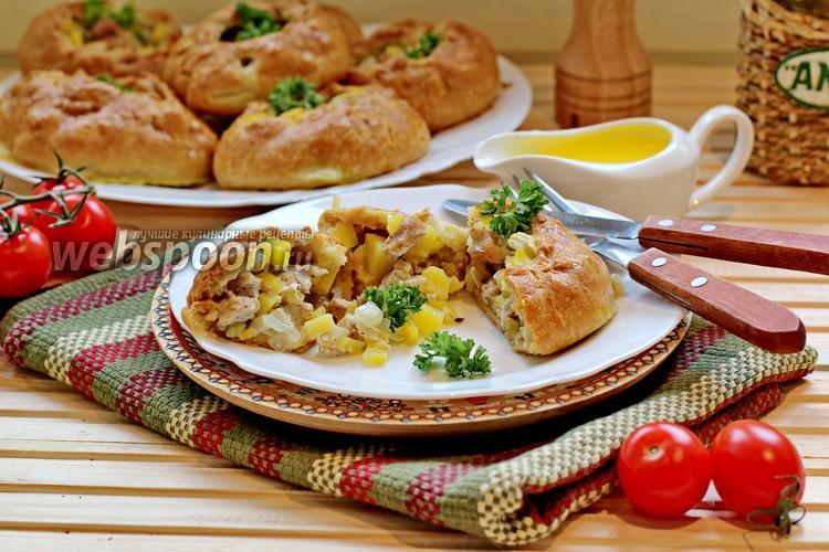 Фото Вак балиш — маленькие пироги с мясом и картофелем