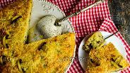 Фото рецепта Грибной пирог с сыром