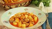 Фото рецепта Сулу кёфте – фрикадельки в томатном соусе по-турецки