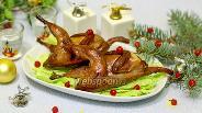 Фото рецепта Праздничные перепёлки на гриле