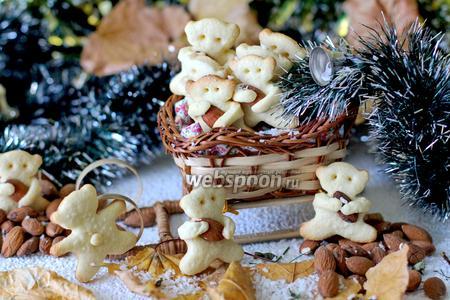 Печенье «Мишка с шишкой»