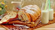 Фото рецепта Творожной кекс с сушёной клюквой