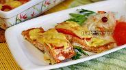 Фото рецепта Филе горбуши с сыром в духовке