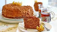 Фото рецепта Шоколадный медовик