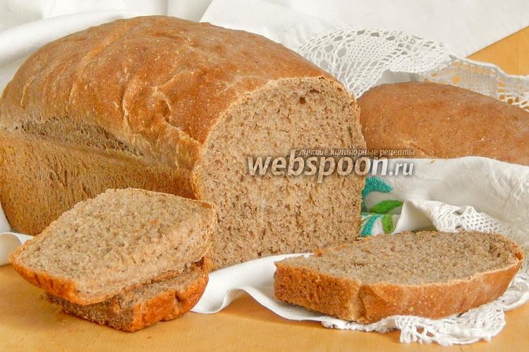 Фото Черёмуховый хлеб