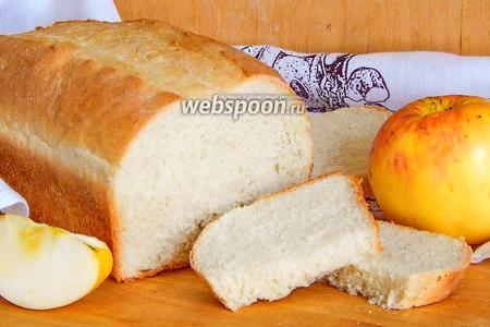Яблочный хлеб на майонезе