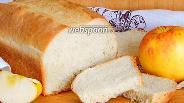 Фото рецепта Яблочный хлеб на майонезе