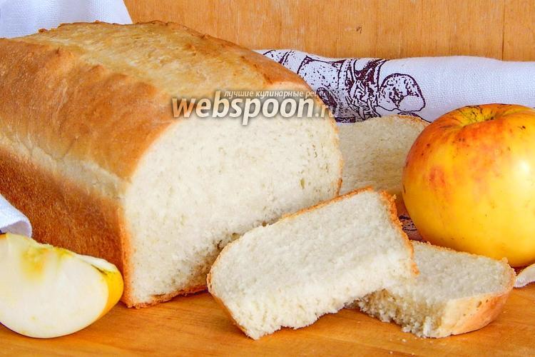 Фото Яблочный хлеб на майонезе