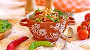 Фото рецепта Фасолевый суп с копченостями