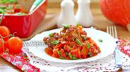Фото рецепта Тефтели в томатном соусе с тыквой