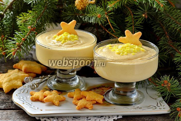 Фото Десерт «Лимонный поссет»