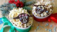 Фото рецепта Праздничный крамбль «Овечки»
