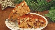 Фото рецепта Итальянская рождественская коврижка «Панфорте»