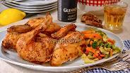 Фото рецепта Курица на пивной банке