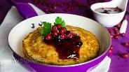 Фото рецепта Блинчики с капустой и зернистым сыром