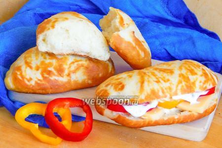 Ажурные булочки для сэндвичей