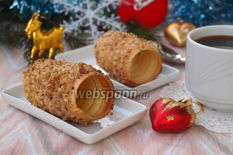 Фото Чешское печенье — трдло