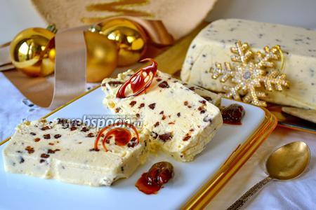 Семифреддо с белым шоколадом